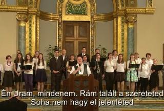Feliratos gyülekezeti énekek gyűjteménye