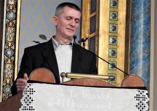 Boros Lajos bizonyságtétele a Mindenki Templomában