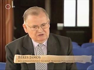 Béres János igehirdetése a Mindenki Templomában