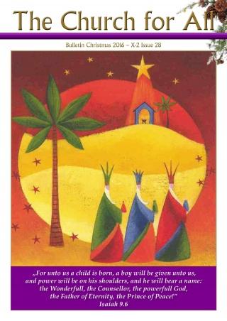 Christmas Bulletin 2016