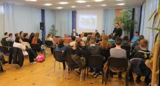 A Giorgio Perlasca Szakgimnázium és Szakközépiskola látogatása
