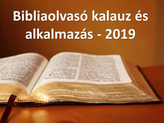 Elérhető a 2019. évre a Bibliaolvasó kalauz és androidos mobil alkalmazás