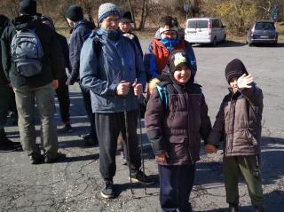 Gyülekezeti kirándulás a visegrádi Mogyoró-hegyre