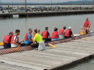 Sárkányhajó verseny Agárdon