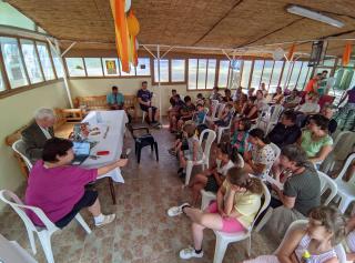 Életképek a családos gyülekezeti táborból